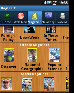 DugleeIT News Android App