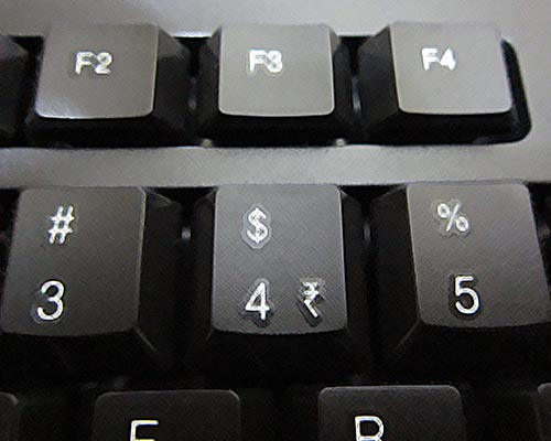 How to get the new Indian currency symbol on your PC