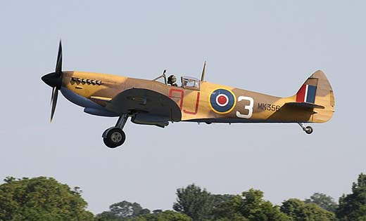 The legendary Spitfire